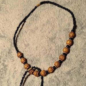 Handmade Beaded necklace and bracelet NWT!